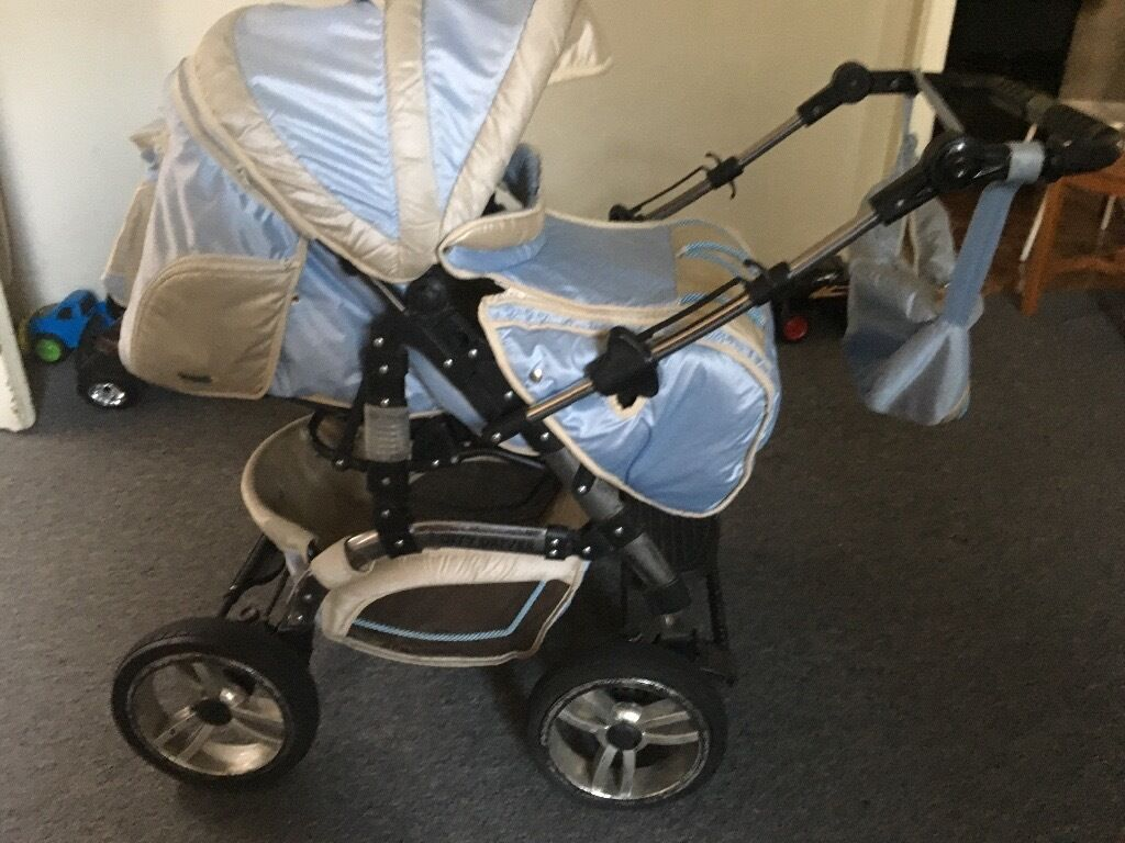 Kaps3 pram from birth to 3 years old