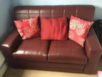 two seater sofa- v, good condition,