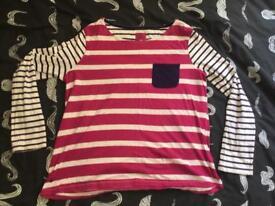 Joules long sleeve ladies shirt / top