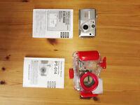 Olympus C-50 Zoom digital camera plus Olympus PT-014 underwater case