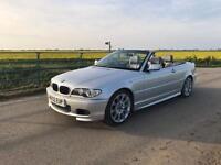 BMW 320CD M Sport Convertable E46