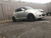 Suzuki swift 1.3 gl silver sporty ((low miles))