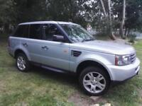 2008 58 LAND ROVER RANGE ROVER SPORT S 2.7 TDV6 5D AUTO - NEW ENGINE