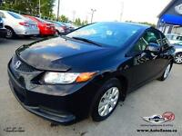 2012 Honda Civic Cpe LX * LIQUIDATION ! *