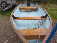 10.5FT BOAT AND TRAILER