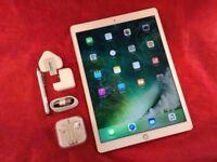 "Apple iPad Pro 12.9"" 128GB, WiFi + Cellular, Gold, Unlocked, +WARRANTY, NO OFFERS"