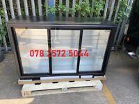Commercial 3 Door Sliding Back Bar Bottle Cooler / Display Fridge (£850+VAT)