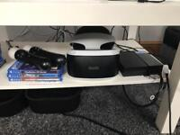Psvr, games and accessories