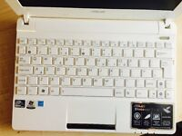 White Asus laptop notebook Just like new and in great condition