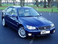 2004 Lexus IS200 Se. 6 Speed Manual. Mot June. History. Full Cream Leather. 97000 Miles. £1495.