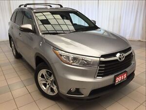 2015 Toyota Highlander Limited AWD *Loaded!*