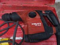 Hilti TE 300 needle gun, Breaker, SDS drill