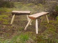 Make a Rustic Stool with Green Woodwork Ireland