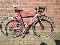 vitus road bike campagnolo groupset carbon fork