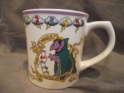 Sesame Street Muppets Gorham Mug - The Count
