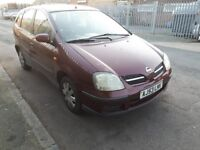 53 reg nissan almera tino automatic drives well quick sale