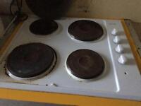 2 hobs with four plates