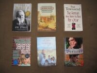 4 Novels, An Autobiography and A Real Life Search for PeaceQuest: All 6 Books for £8.00
