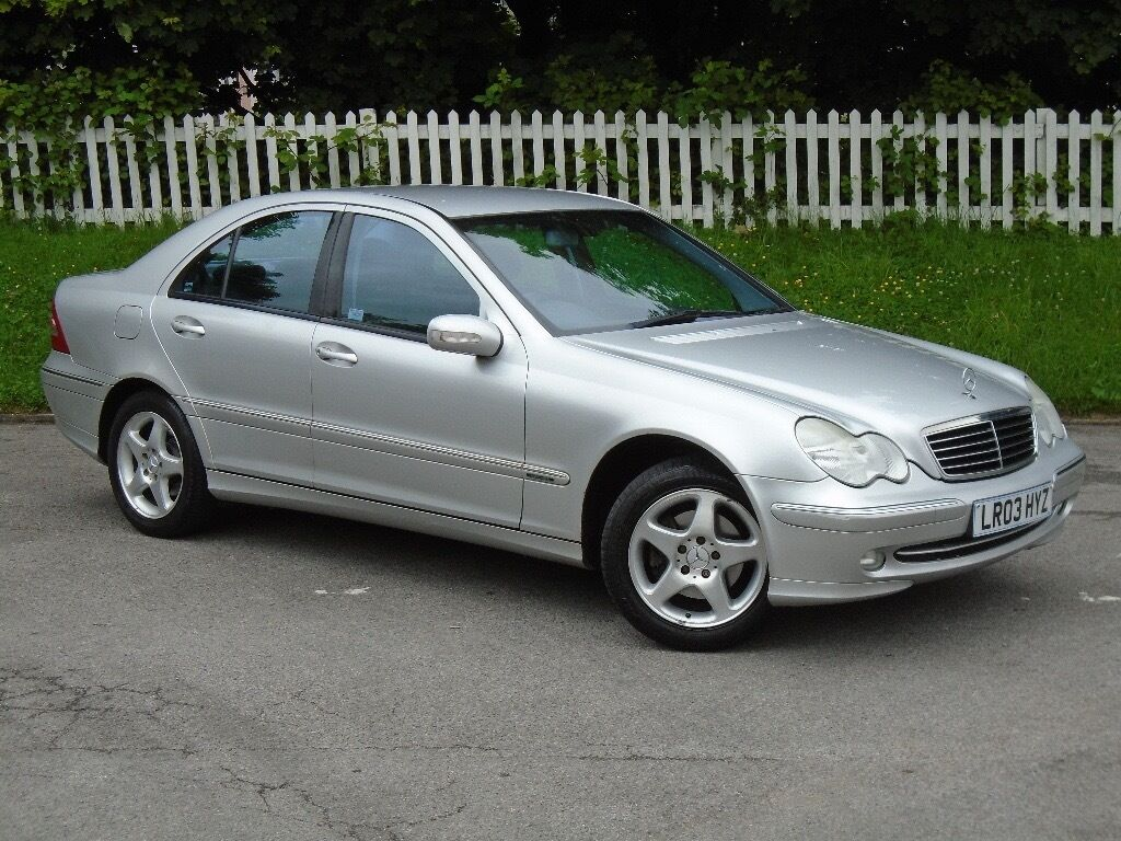 2003 03 mercedes benz c class 1 8 c180 kompressor for C180 mercedes benz