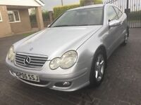 \\\ 05 MERCEDES C220 CDI SE COUPE \\\ IST CLASS CONDITION \\\ ONLY £2499