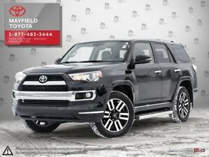 2018 Toyota 4Runner Limited 7 Passenger Low Kilometers