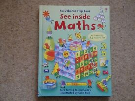 Usborne Maths Flap Book
