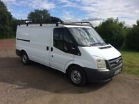 FORD TRANSIT t280 MWB 2.2 TDCI DIESEL 2008 58-REG TWIN SIDE LOADING DOORS DRIVES EXCELLENT