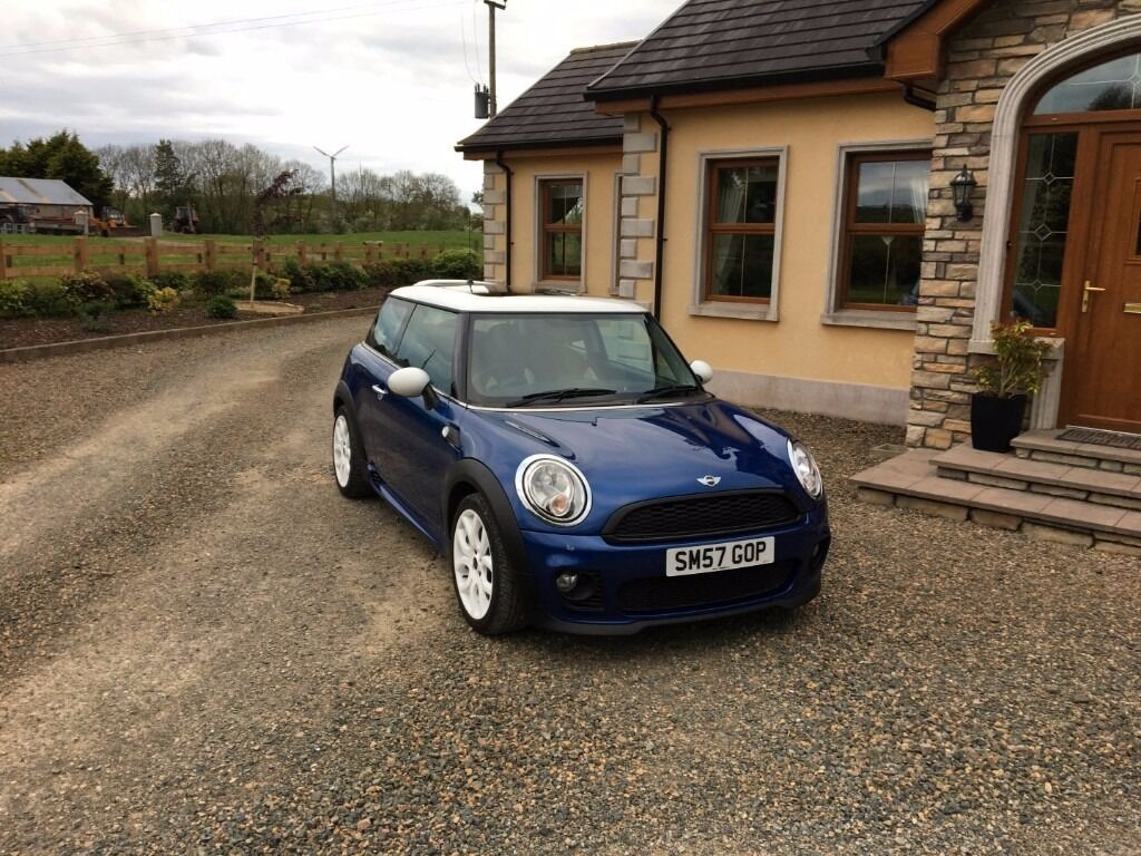 2007 mini cooper 1 6 r56 facelift model chili pack jcw bodykit in omagh county tyrone. Black Bedroom Furniture Sets. Home Design Ideas