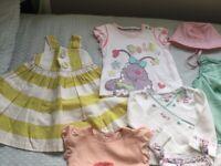 Bundle baby clothes girls 3-6m monsoon M&S Next Jojo Maman Bebe