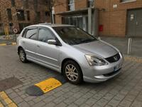 2005 Honda Civic SE, 1.6 Petrol Automatic 5dr. Full Service History HPIclear £2,100.Golf Astra Auris