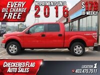 2011 Ford F-150 XLT W/ 4X4-Factory Tow-Low KMS