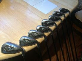 Callaway FT Irons 3 - P/W, Graphite shafts, New Grips.