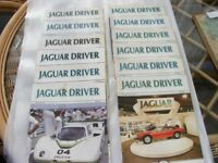 Jaguar Driver Magazines. 1985. Complete Year. 12 Issues