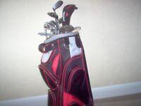 Golf Clubsx9/Putter/2 Drivers.