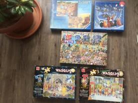 5 x Puzzles £1 EACH