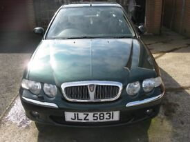 rover 45 club 16v 1.8 automatic for spare or repair