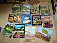 14 RAILWAY BOOKS, ALL IN A VERY GOOD CONDITION,