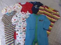 Bundle of Good Quality Boy's Clothes Aged 9 -12 mths