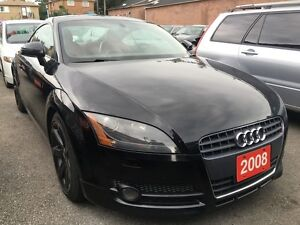 2008 Audi TT Coupe Leather Interior Power Opts Alloys MINT