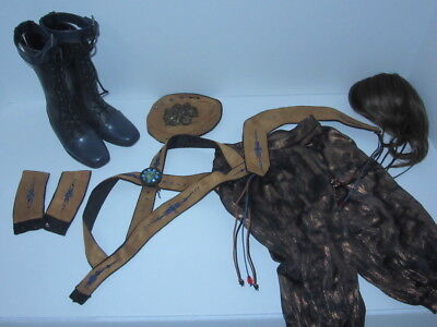 BJD 1/3 Iplehouse EID Luo Noctarcana Circus Strongman Outfit, Wig & Boots