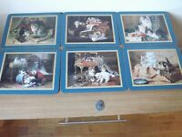 6 Jason Cat Table Mats