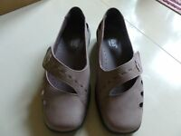 Hotter extra wide size 5 shoes - Suede/colour Damson