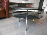 Designer black coffee table for sale
