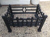 Cast iron fire basket.