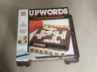 Vintage 1985 UPWORDS BOARD GAME.