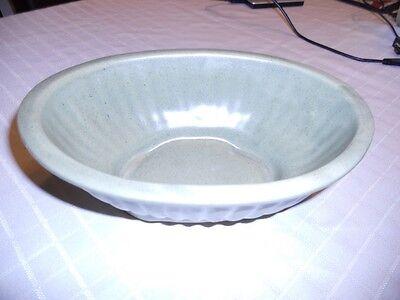 Haeger Green 3938A U.S.A. Vintage Pottery Glassware - Planter Bowl