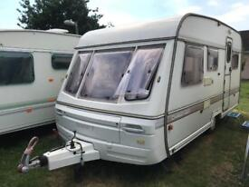 Caravan 4/5/6 berth Swift Challenger 450 1992 lovely condition full awning available