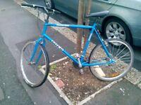 "Trek bike for sale frame 22.5"" tires 26""good condition"