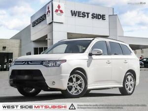 2014 Mitsubishi Outlander GT–Accident Free–Satellite Radio–Premi