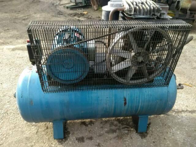 Ingersoll Rand Euro Compressor 3 Phase 4 Kilowatt Motor 21 CFM 145 PSI 200  Litre Good Working Order | in Ashbourne, Derbyshire | Gumtree